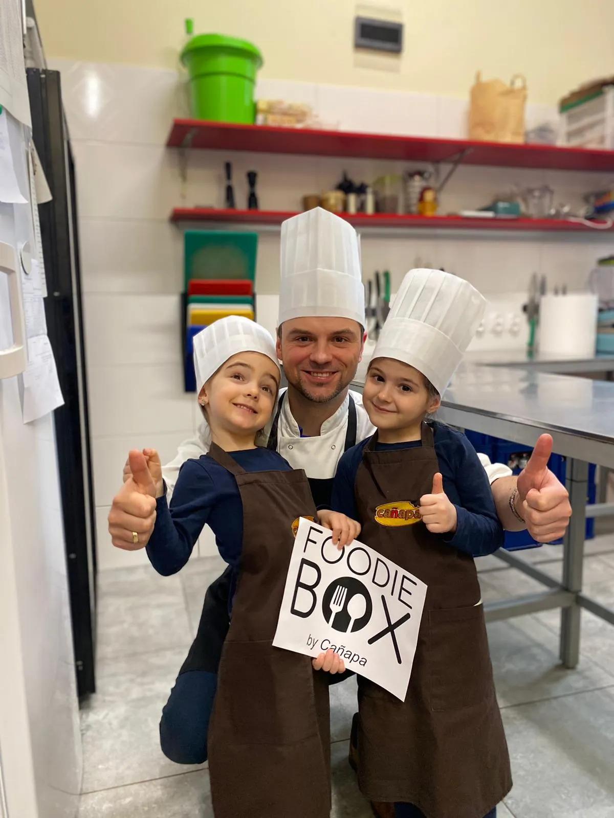 Historia właściciela firmy FoodieBox